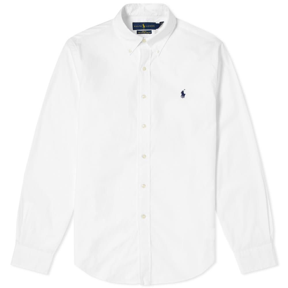 Polo Ralph Lauren Slim Fit Button Down Poplin Shirt