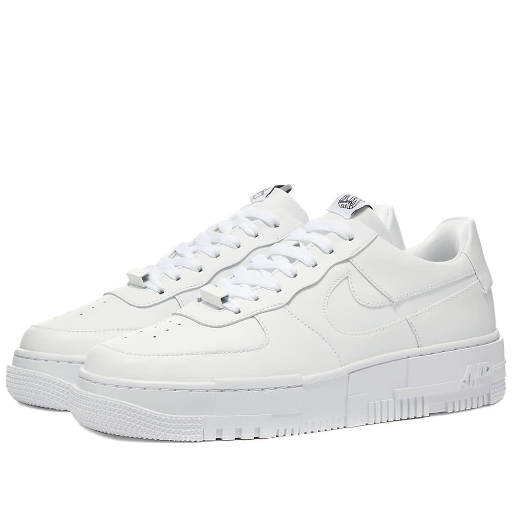Nike Air Force 1 Pixel W White, Black & Sail   END.
