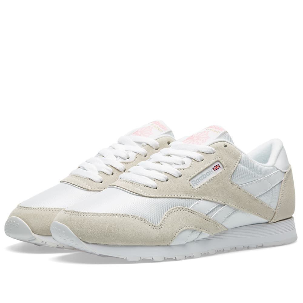 convergencia garra Alarmante  Reebok Classic Nylon OG White & Light Grey | END.
