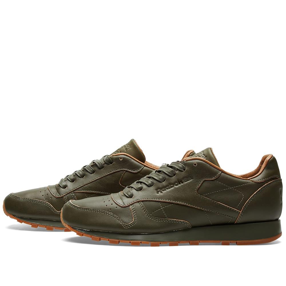4a4e85f542062 Reebok x Kendrick Lamar Classic Leather Lux Olive
