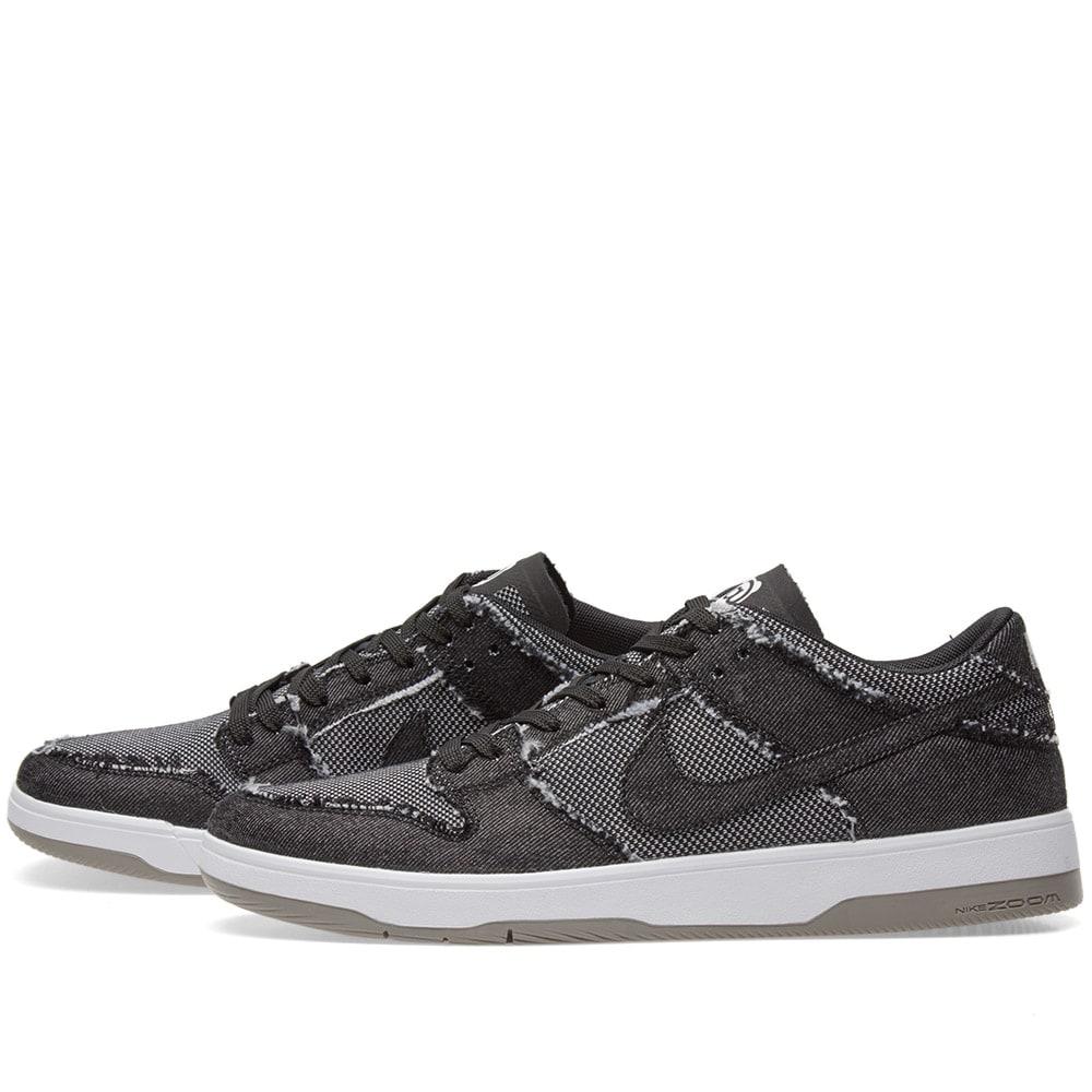 newest c3a94 3bcd3 Nike SB x Medicom Dunk Elite Low Black, White   Grey   END.