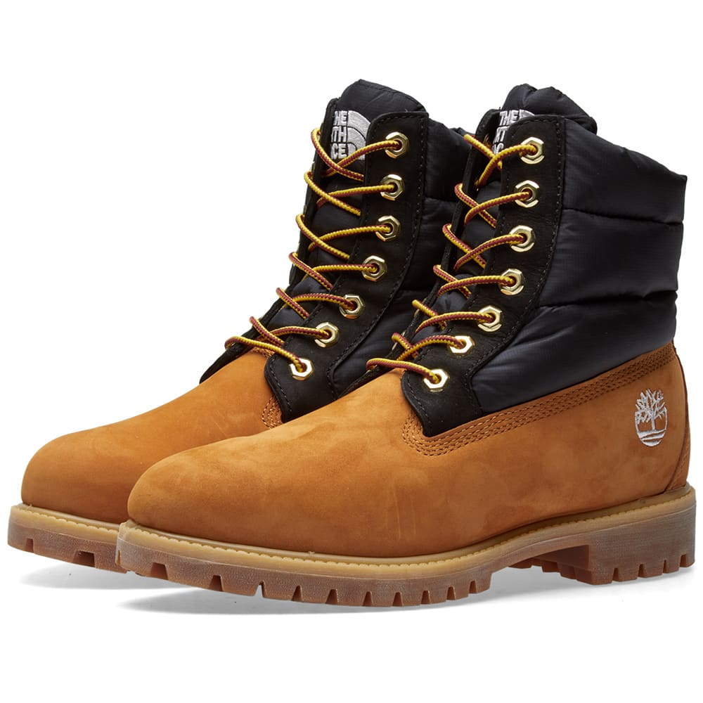 7f15d8e3227 Timberland x The North Face 6 Eye Boot Wheat