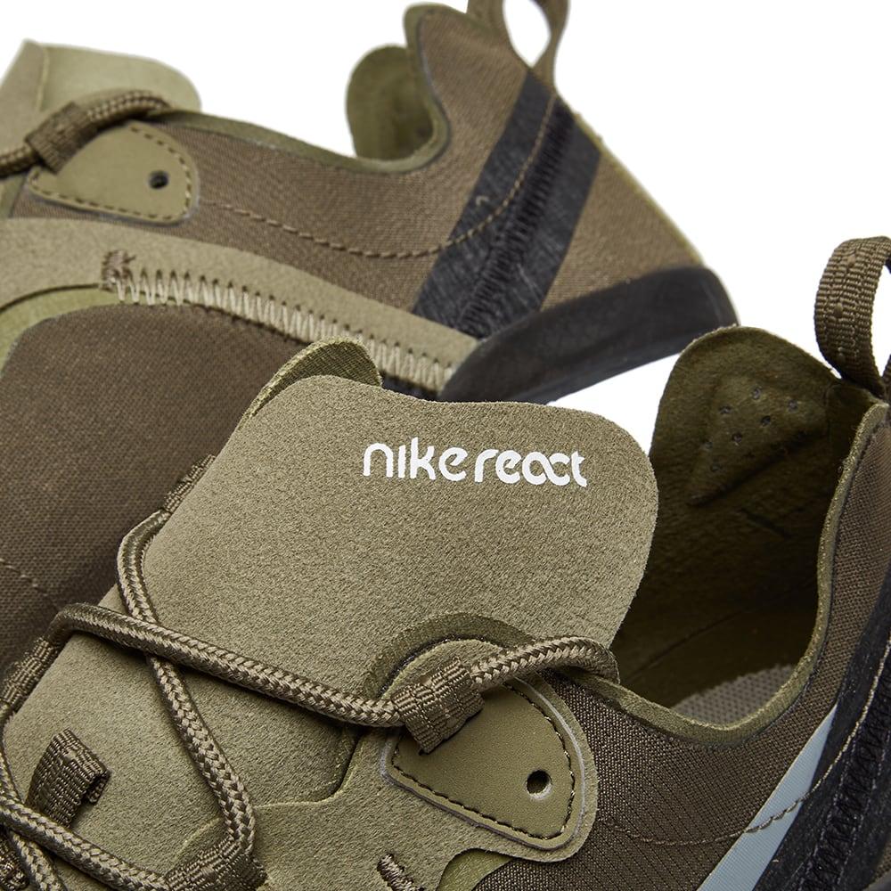 Nike React Element 55 Olive, Grey