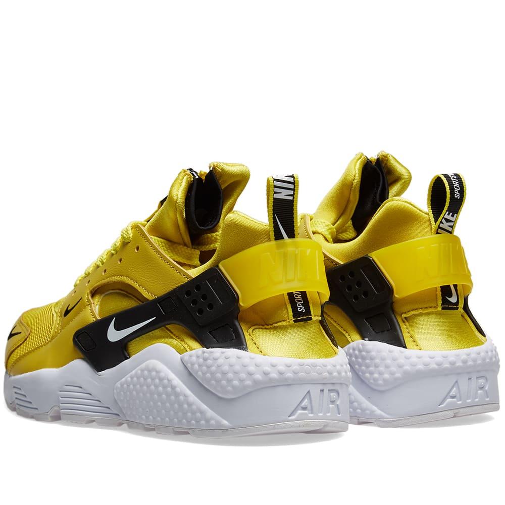 29e6d43f89778 Nike Air Huarache Run Premium Zip Citron