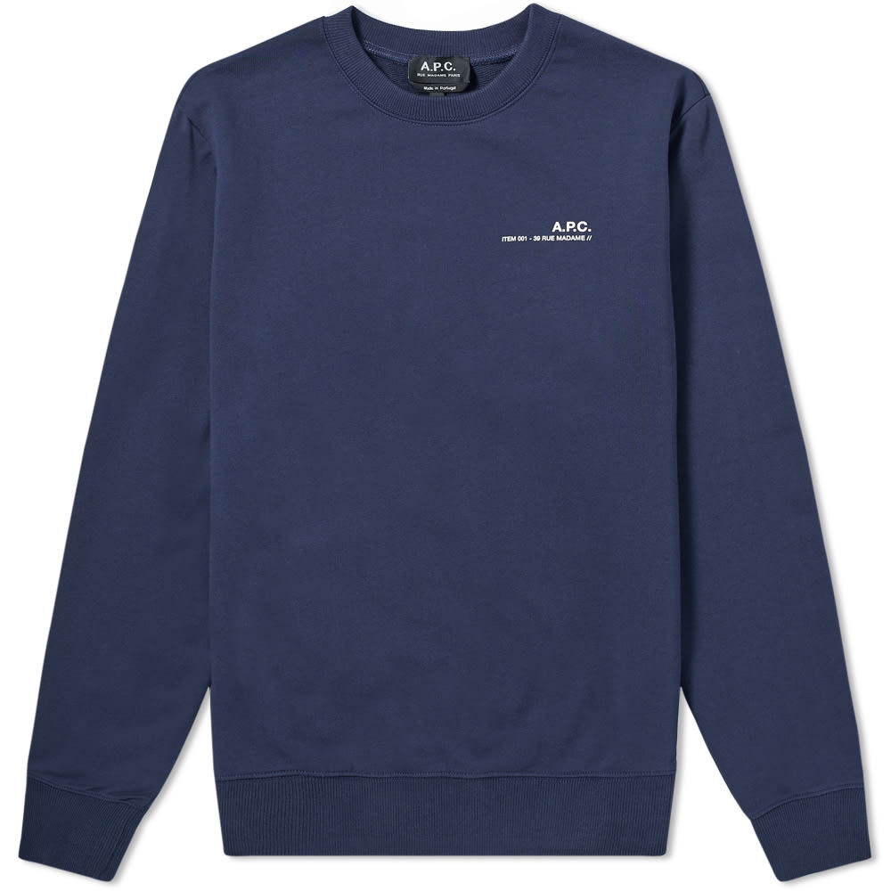 A.P.C. Chest Logo Sweat by A.P.C.
