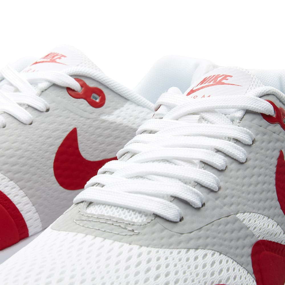 Nike Air Max 1 Ultra Essential White Varsity Red 819476 106