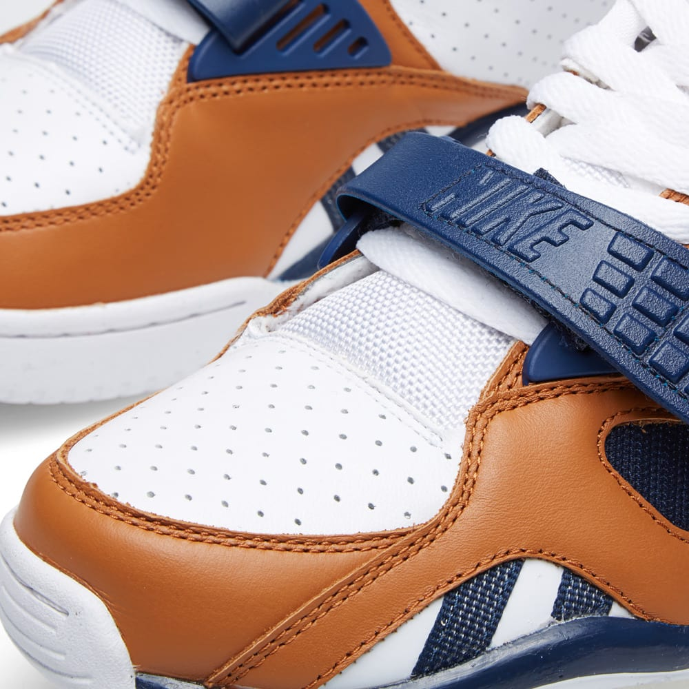 hot sale online 101a2 65a74 Nike Air Trainer SC II Low Premium  Medicine Ball  White   Midnight Navy    END.