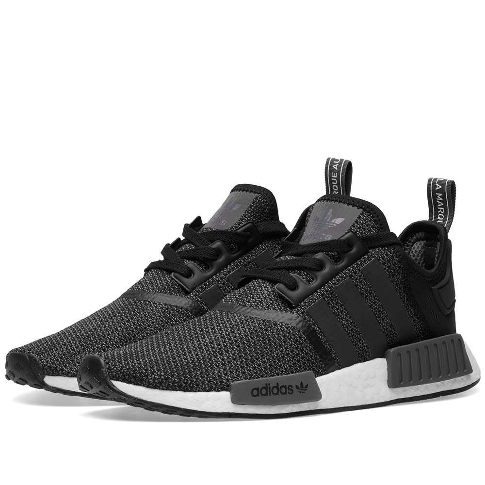 Adidas NMD_R1 Core Black \u0026 Carbon | END.