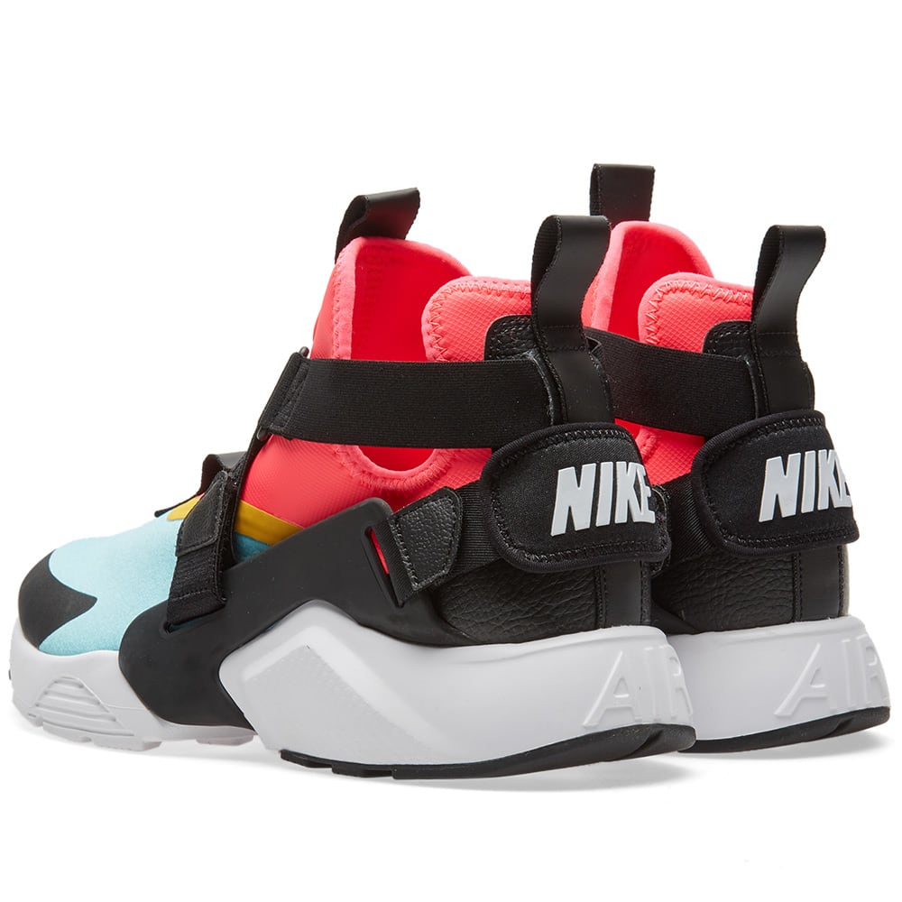 buy online b13a7 dee41 Nike Air Huarache City W Aqua, Black, Pink   White   END.