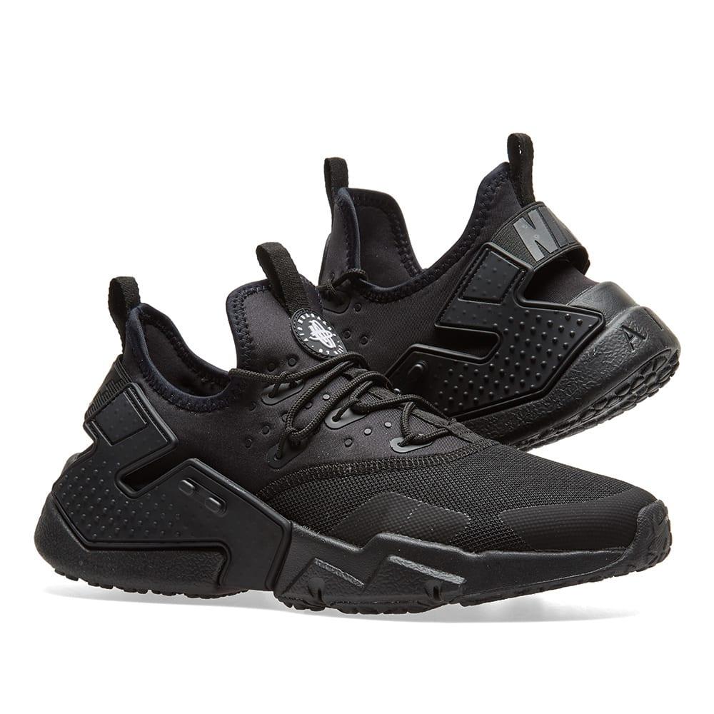 9ffc651e6e3fc Nike Air Huarache Drift Black   White