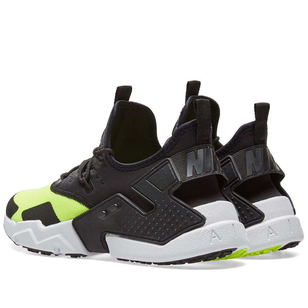 newest 4a21d db0c9 Nike Air Huarache Drift Volt, Black   White   END.