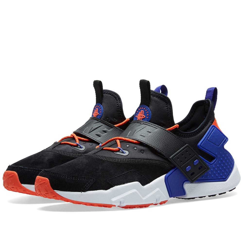 brand new 8aa0d d6359 ... low cost nike air huarache drift premium black and blue sneakers 3b967  fc258