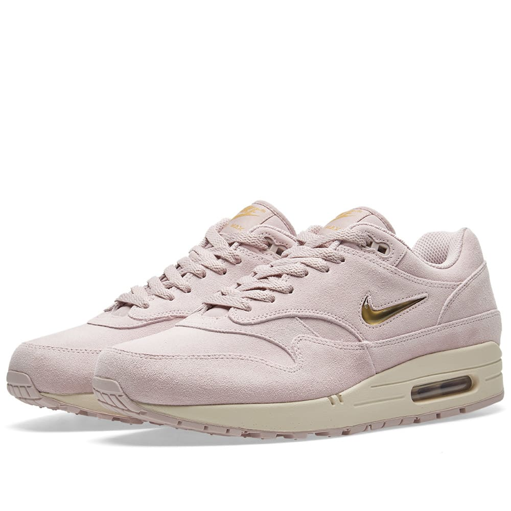 finest selection cfde2 d7160 Nike Air Max 1 Premium SC Particle Rose   Metallic Gold   END.
