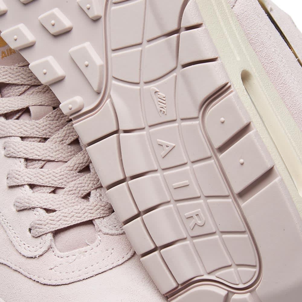 finest selection 2ea17 eeda6 Nike Air Max 1 Premium SC Particle Rose   Metallic Gold   END.