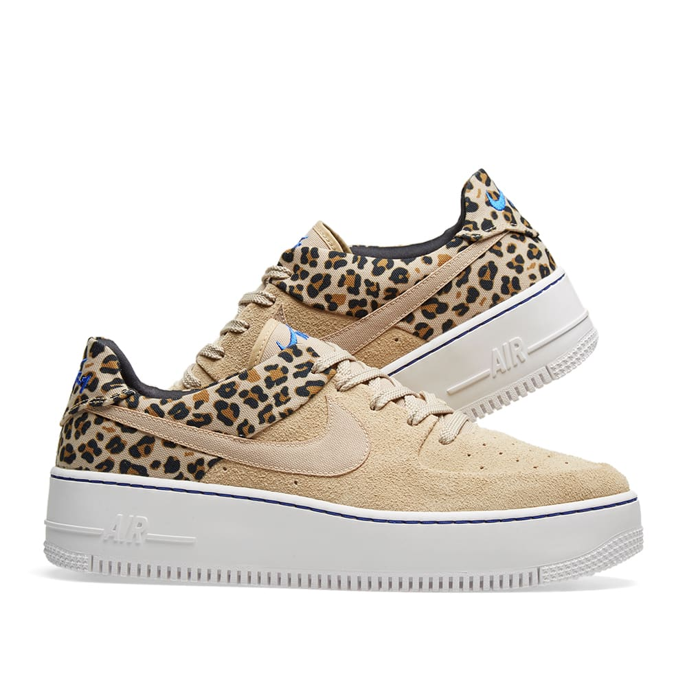 456c95e69e Nike Air Force 1 Sage Lo Premium 'Animal Pack'. Desert Ore