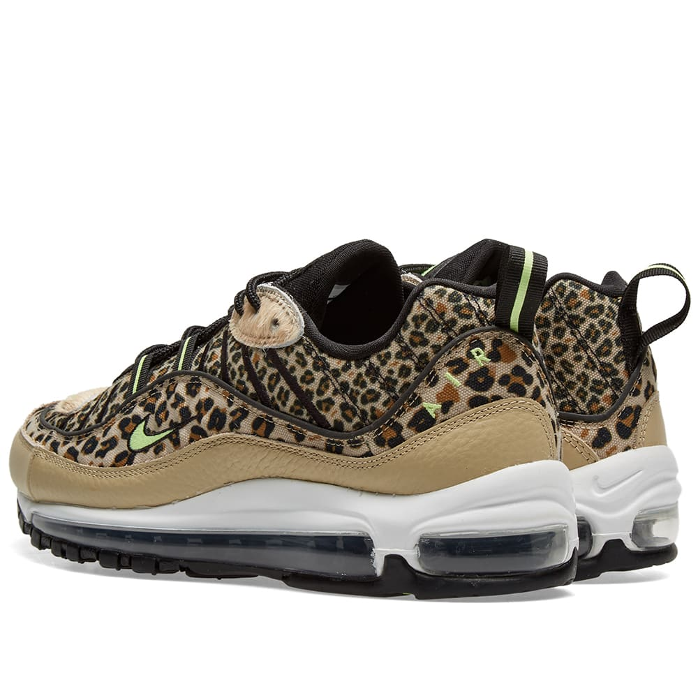 the latest 92e3b 9b05e Nike Air Max 98 Premium W  Animal Pack  Desert Ore   Volt Glow   END.