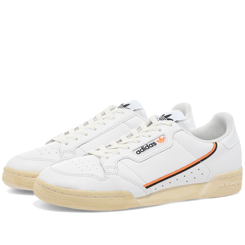 Adidas Continental 80 White, Black
