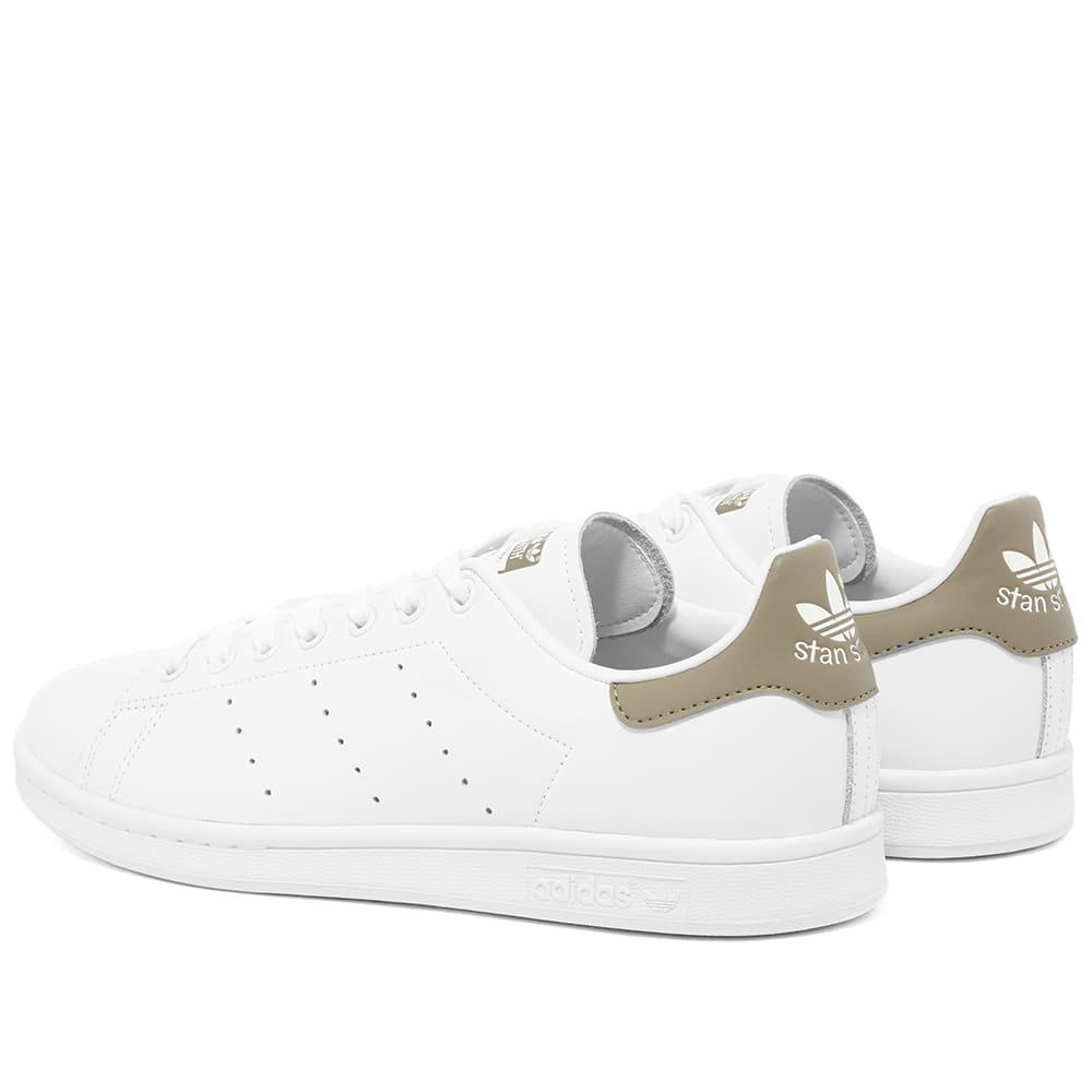 Adidas Stan Smith White \u0026 Trace Cargo