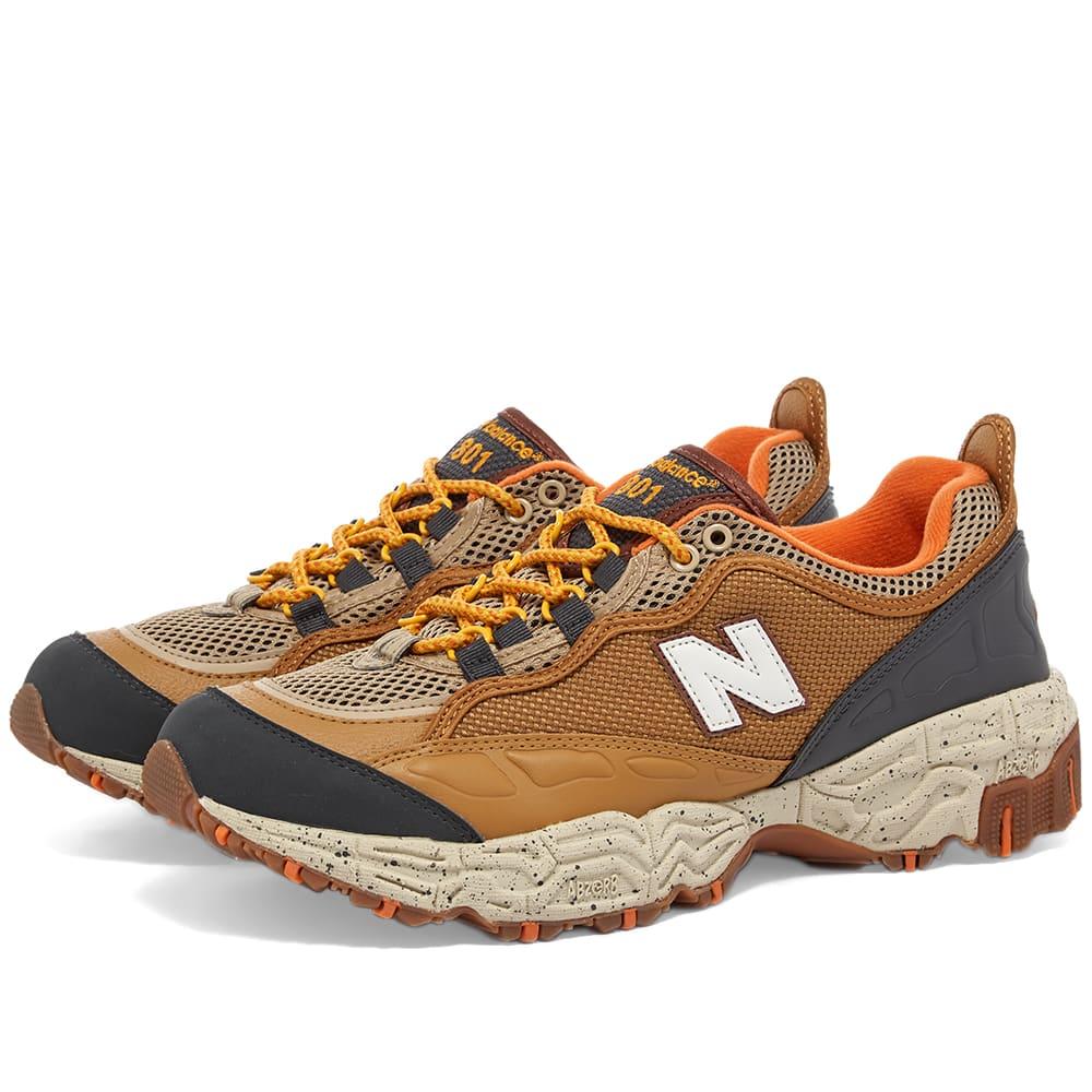 new balance brown orange