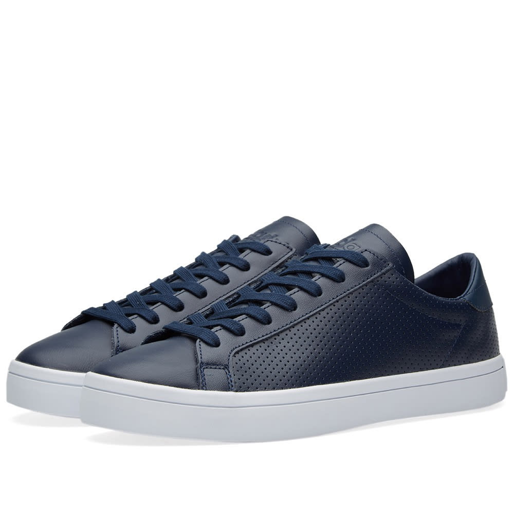 Adidas Court Vantage (Collegiate Navy u0026 White)