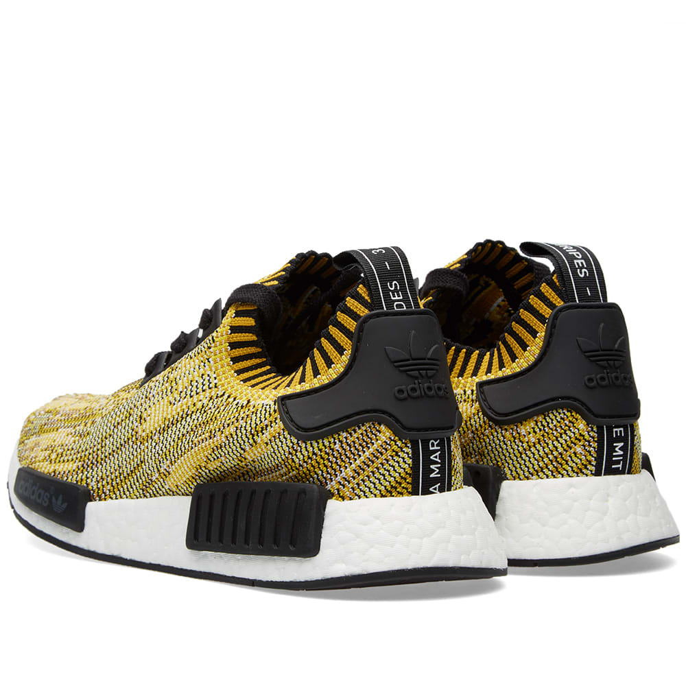 755e1d6fc Adidas NMD Runner PrimeKnit Core Black   Nomad Yellow