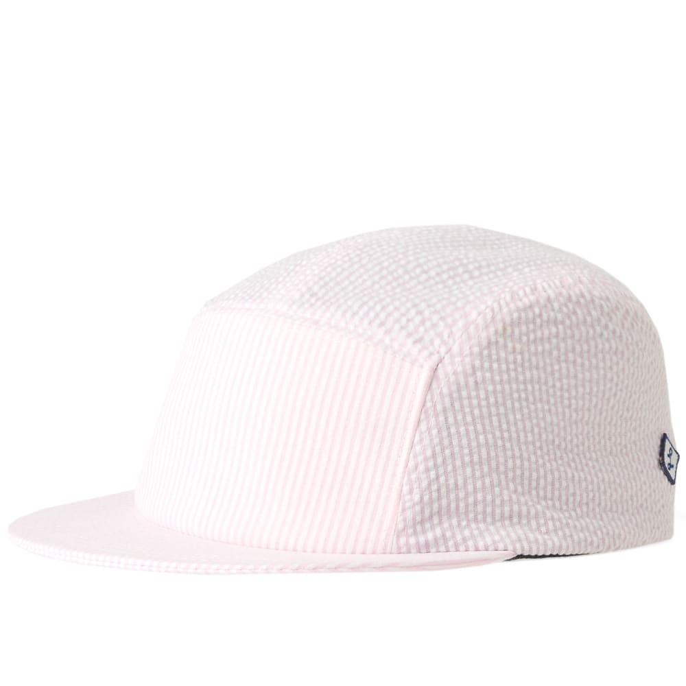 LAROSE PARIS SEERSUCKER 5 PANEL CAP