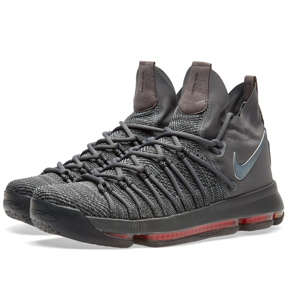 best sneakers 46107 88379 Nike Zoom KD 9 Elite TS Dark Grey, Sail   Hyper Jade   END.