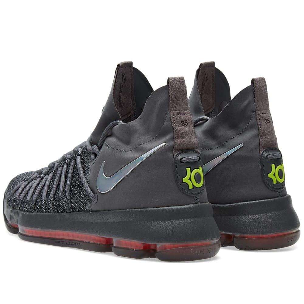 best sneakers e29d8 2b1bd Nike Zoom KD 9 Elite TS Dark Grey, Sail   Hyper Jade   END.