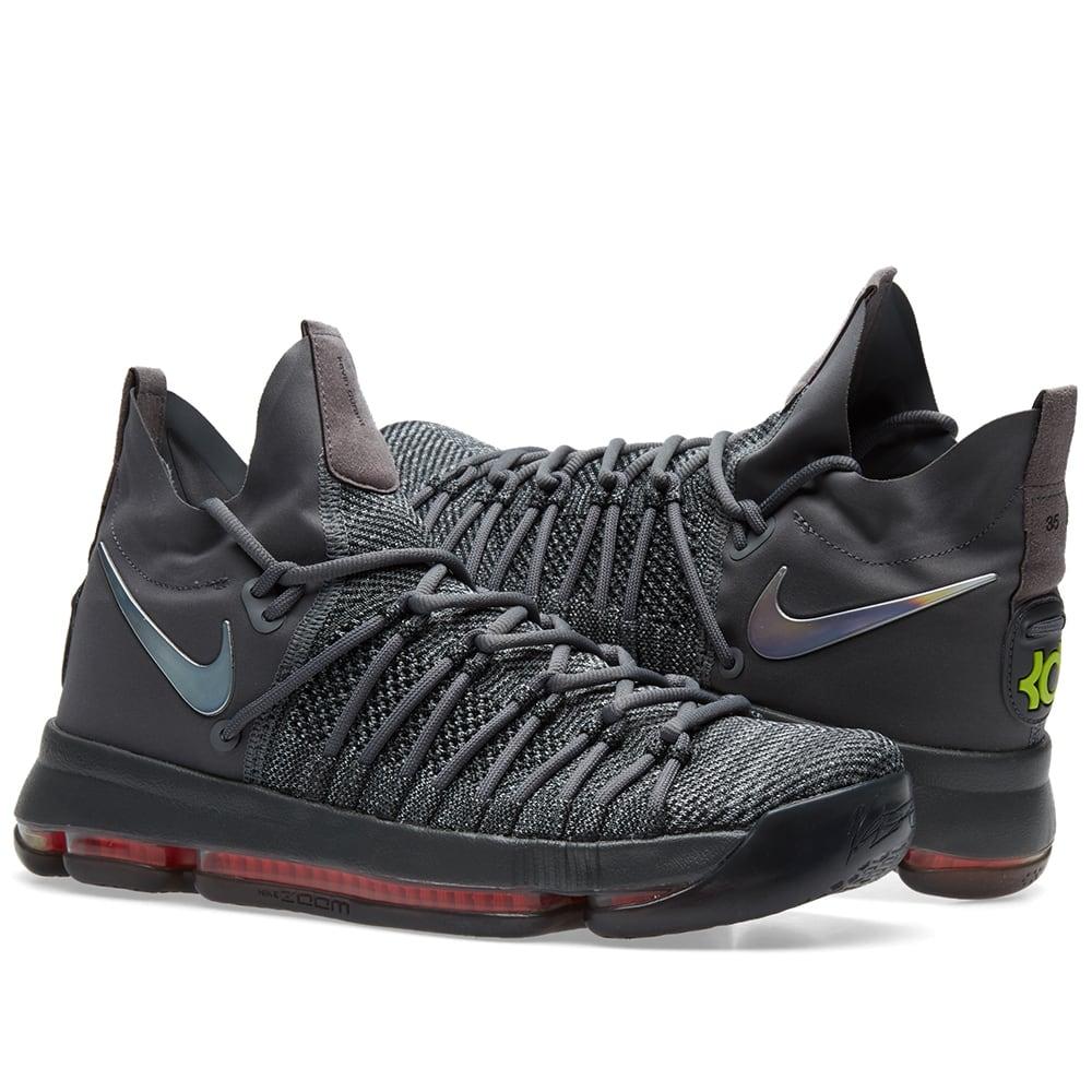 1a2ad3f141b Nike Zoom KD 9 Elite TS. Dark Grey