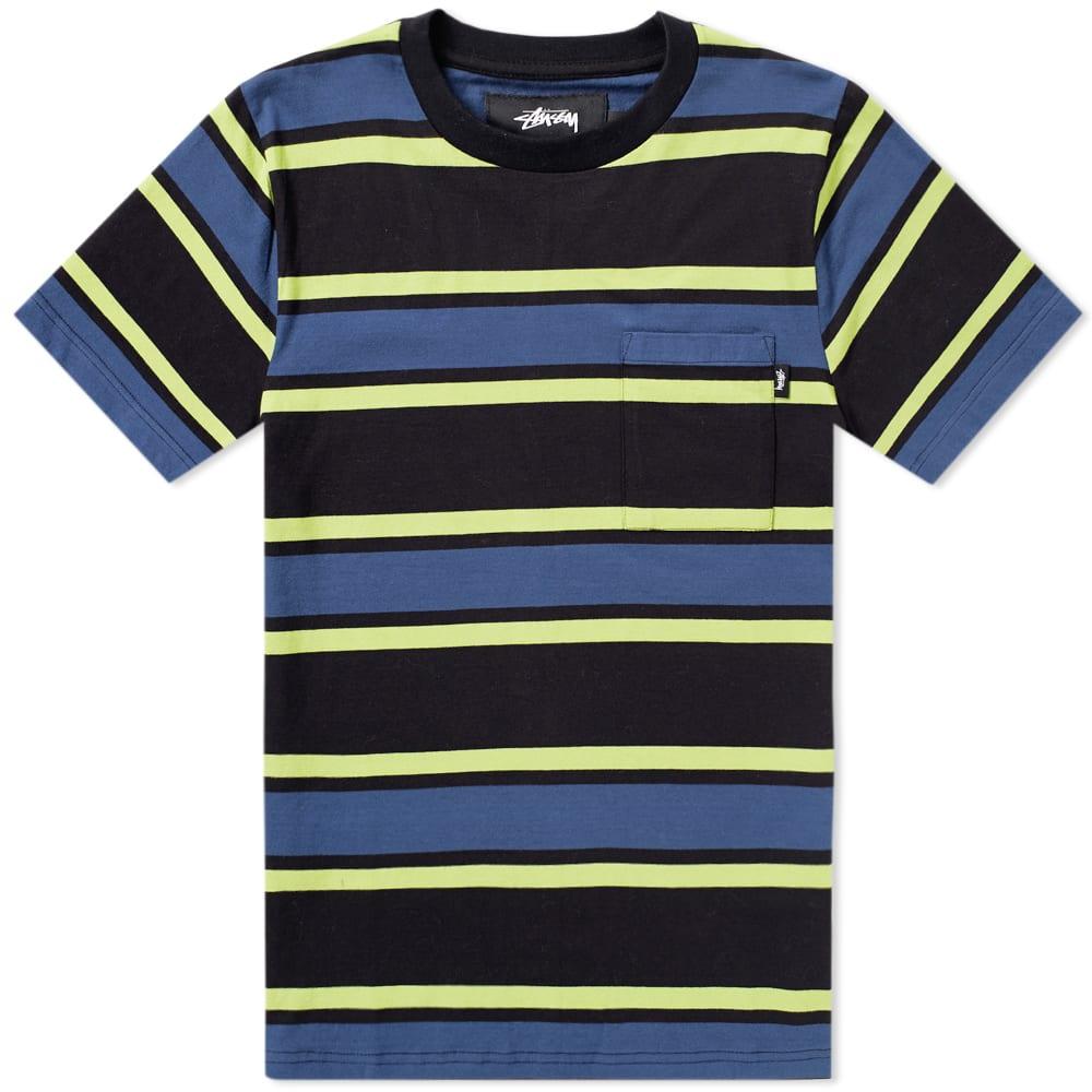 32f298141f2 STUSSY Bold Stripe Jersey Tee