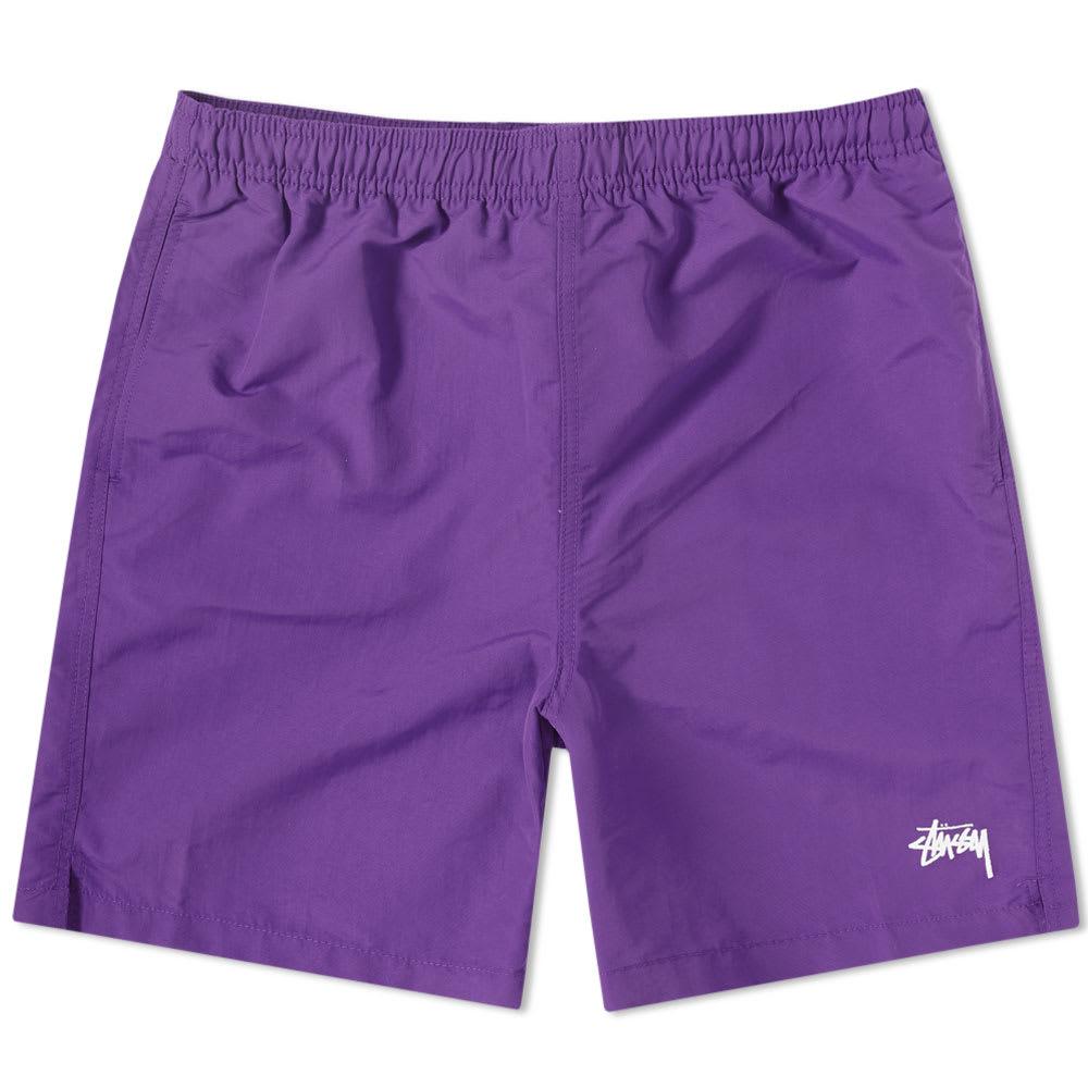 STUSSY Stock Water Short in Purple