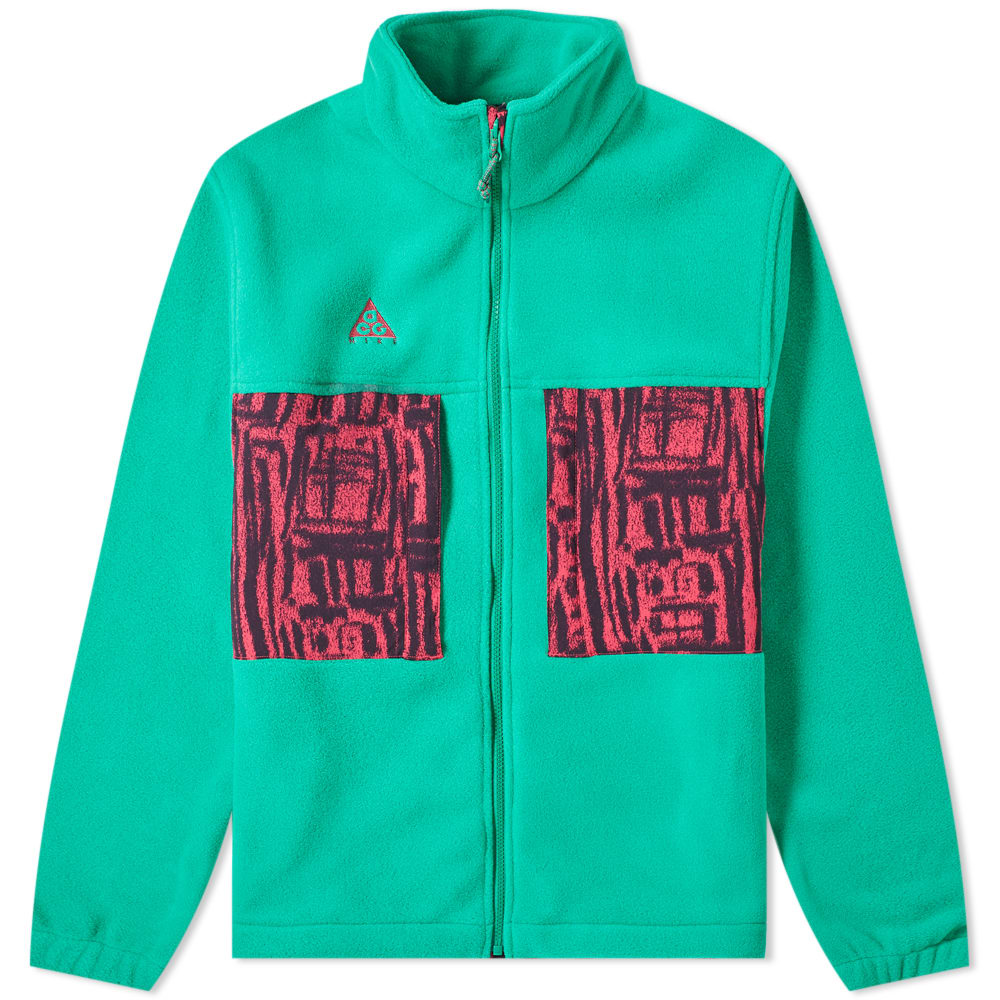 purchase cheap df264 7f990 Nike ACG Microfleece Jacket Lucid Green   Rush Pink   END.