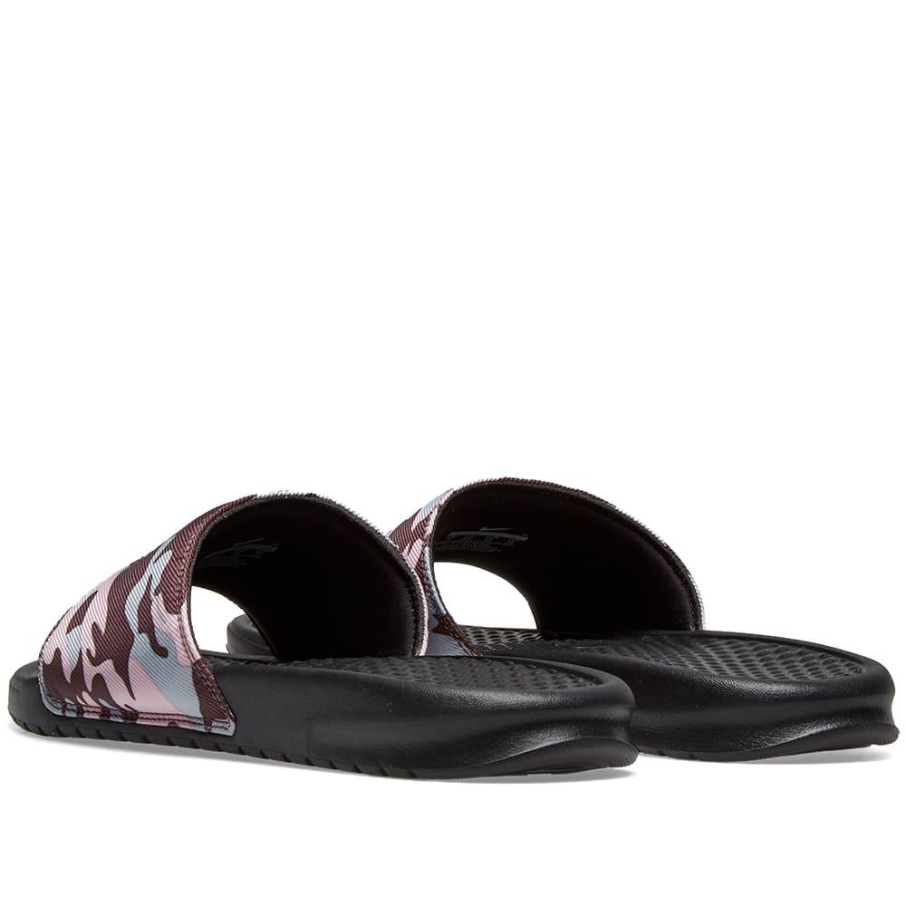 low priced 3da90 d1f00 Nike Benassi JDI TXT SE W Plum, Obsidian Mist   Black   END.