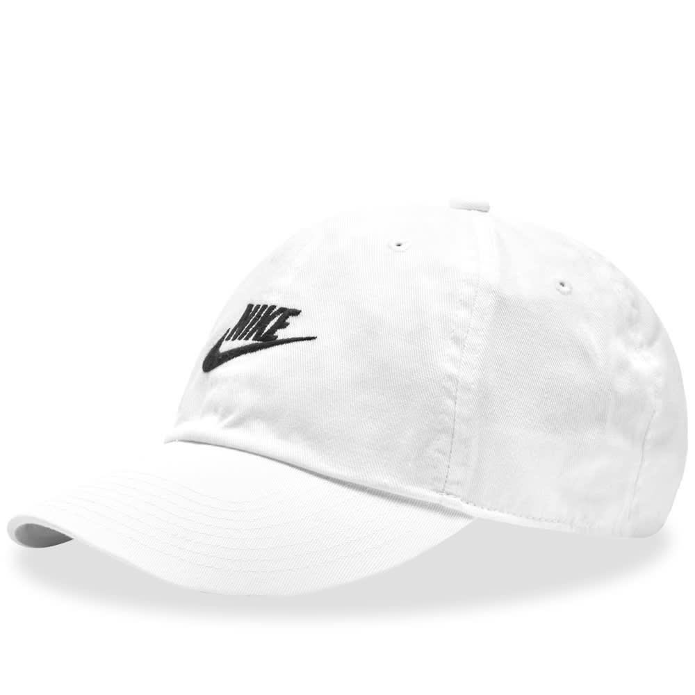 67a8ea6dca9ec Nike Futura Washed H86 Cap White   Black