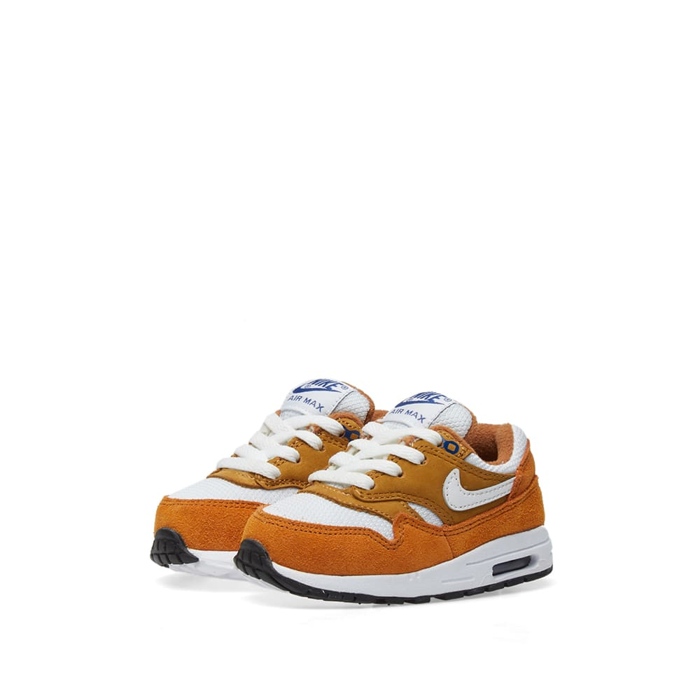 official photos 850a4 89145 Nike Air Max 1 Premium Retro TD Dark Curry, White   Blue   END.