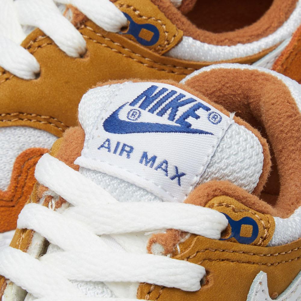 official photos 1409a ab27a Nike Air Max 1 Premium Retro TD Dark Curry, White   Blue   END.