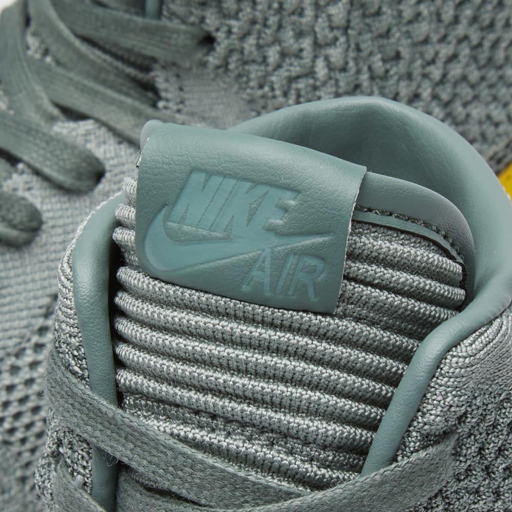sale retailer 2d7c8 15942 Air Jordan 1 Retro High Flyknit BG Clay Green, Hyper Cobalt   Gum   END.
