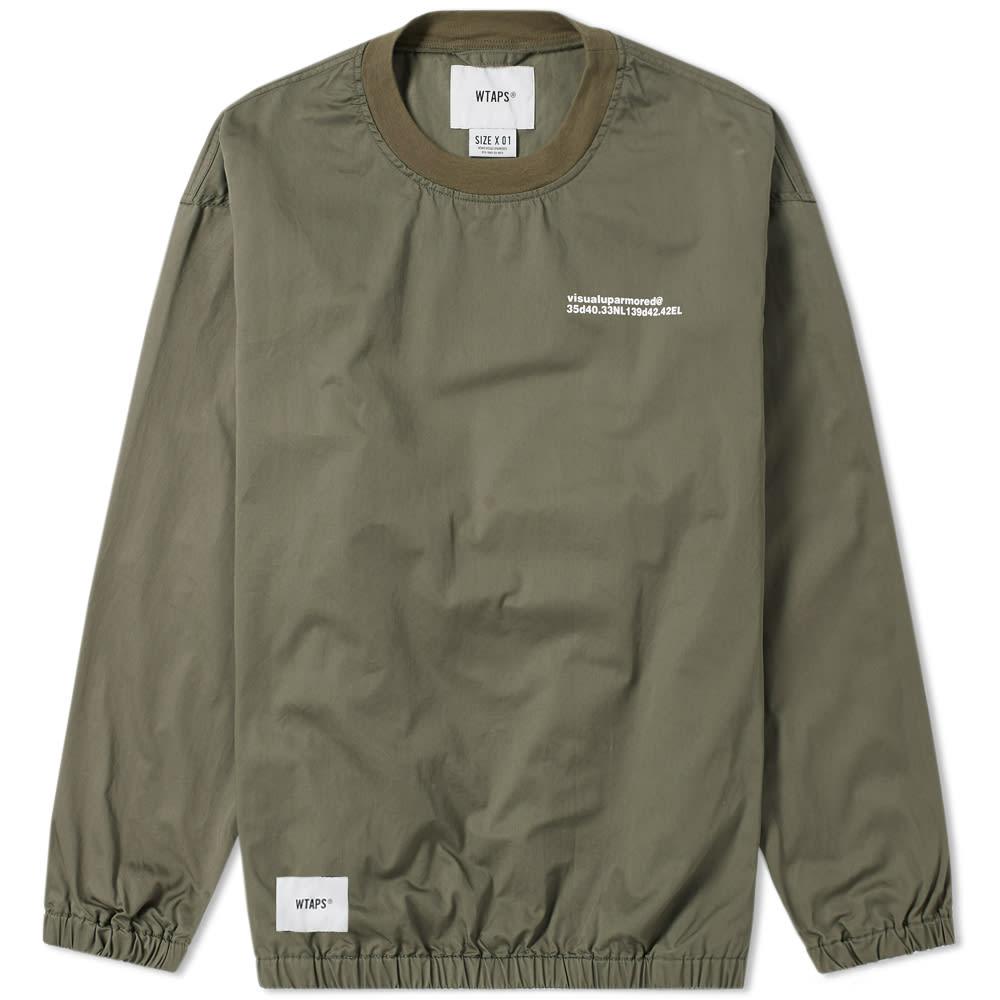 WTAPS Wtaps Smock Jacket in Green
