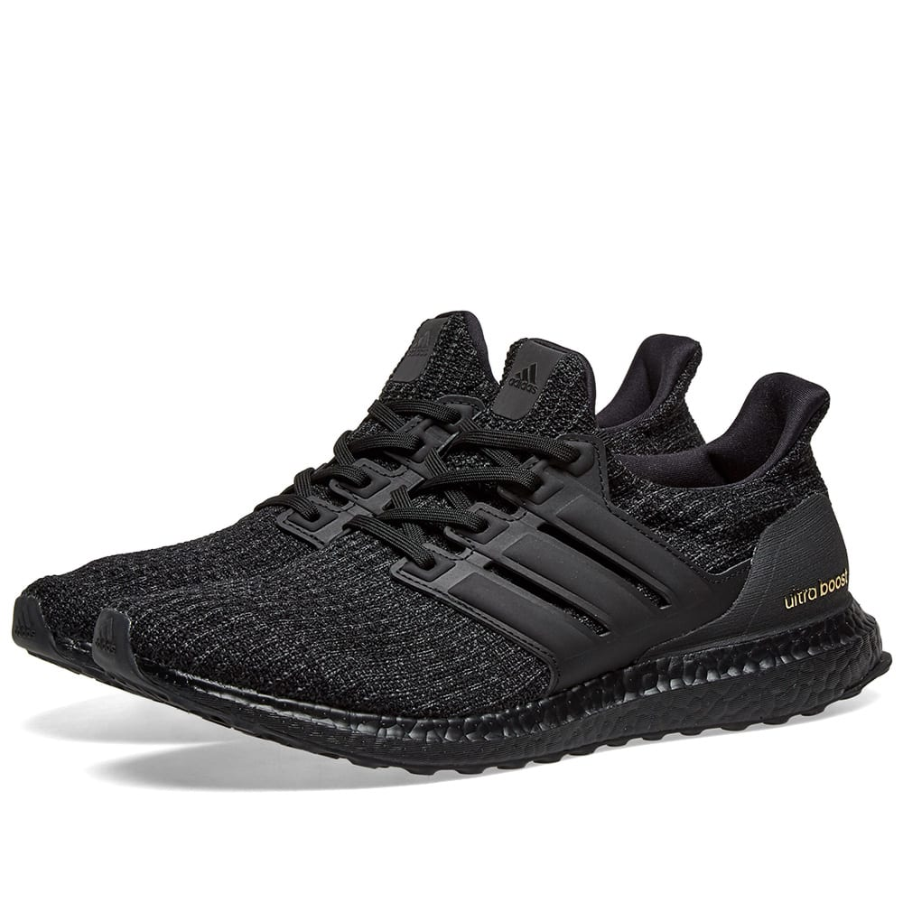 9fcb6f80963a4 Adidas Ultra Boost W Core Black   Gold Metallic
