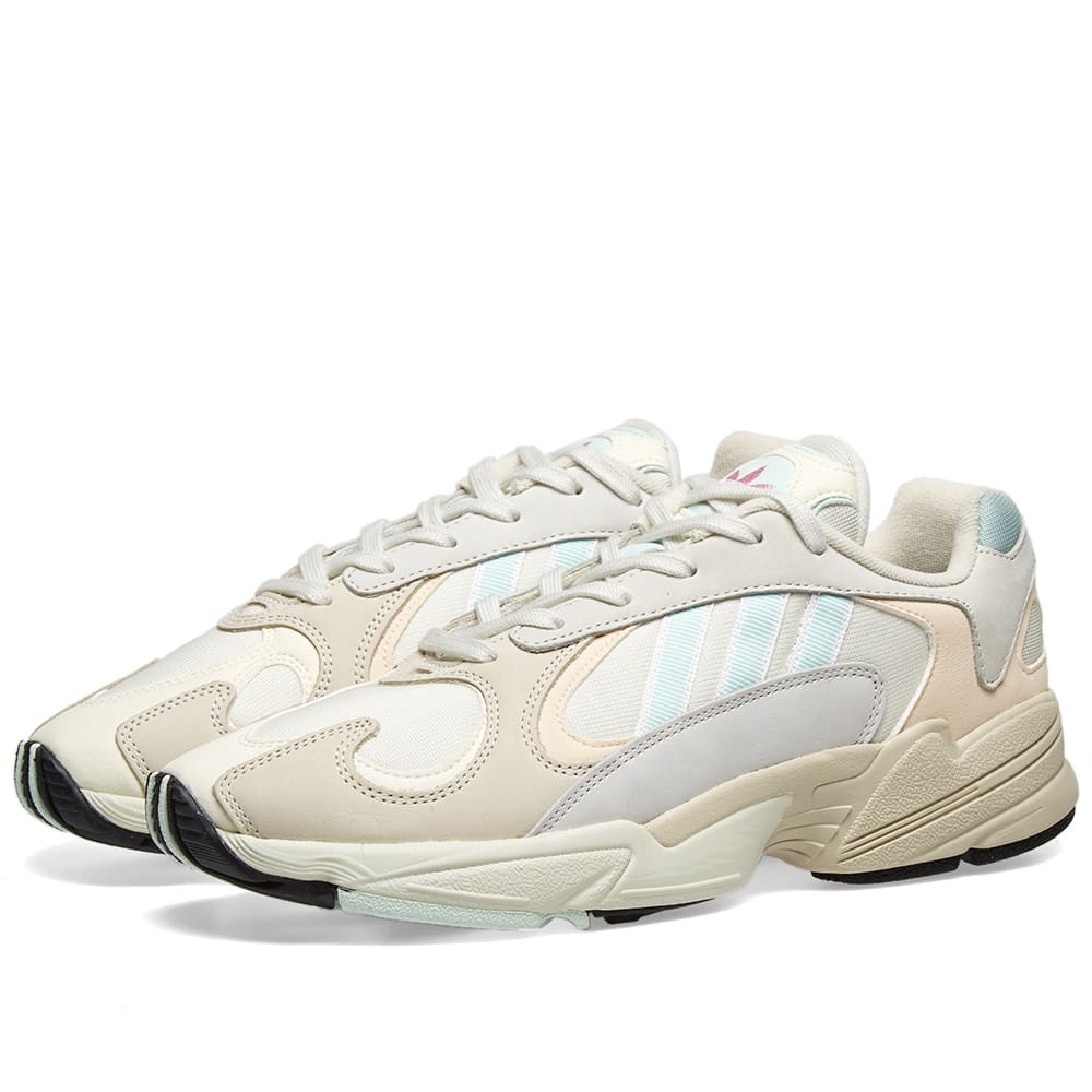 1e74e0cd068 Adidas Yung 1 Off White, Ice Mint & Ecru | END.