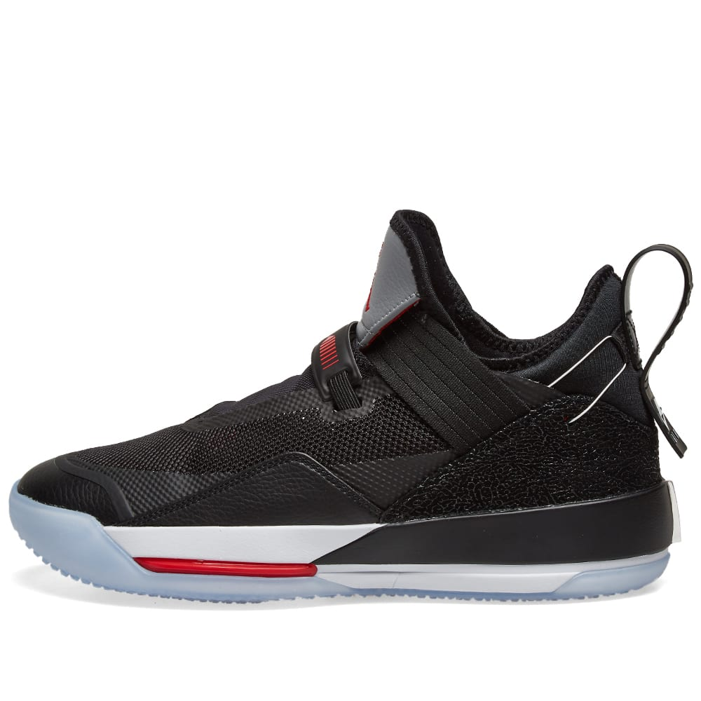 half off 58ca7 1cf98 Air Jordan XXXIII SE Black, Fire Red   Grey   END.