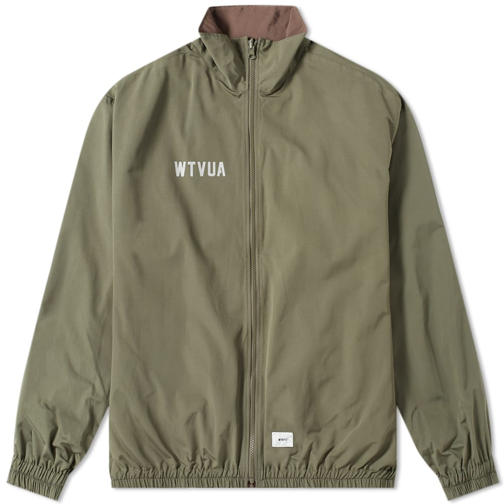 WTAPS | WTAPS Sleep Over Taffeta Jacket Olive Drab | Goxip