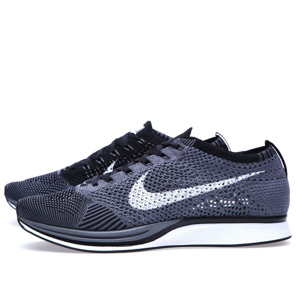 new products 369ff a5c81 Nike Flyknit Racer Dark Grey, White   Black   END.