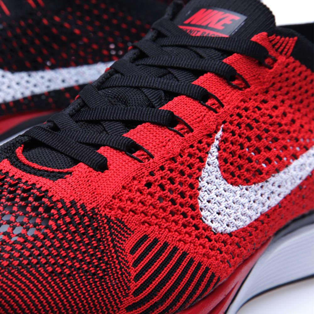 f03b28eb9772 Nike Flyknit Racer University Red