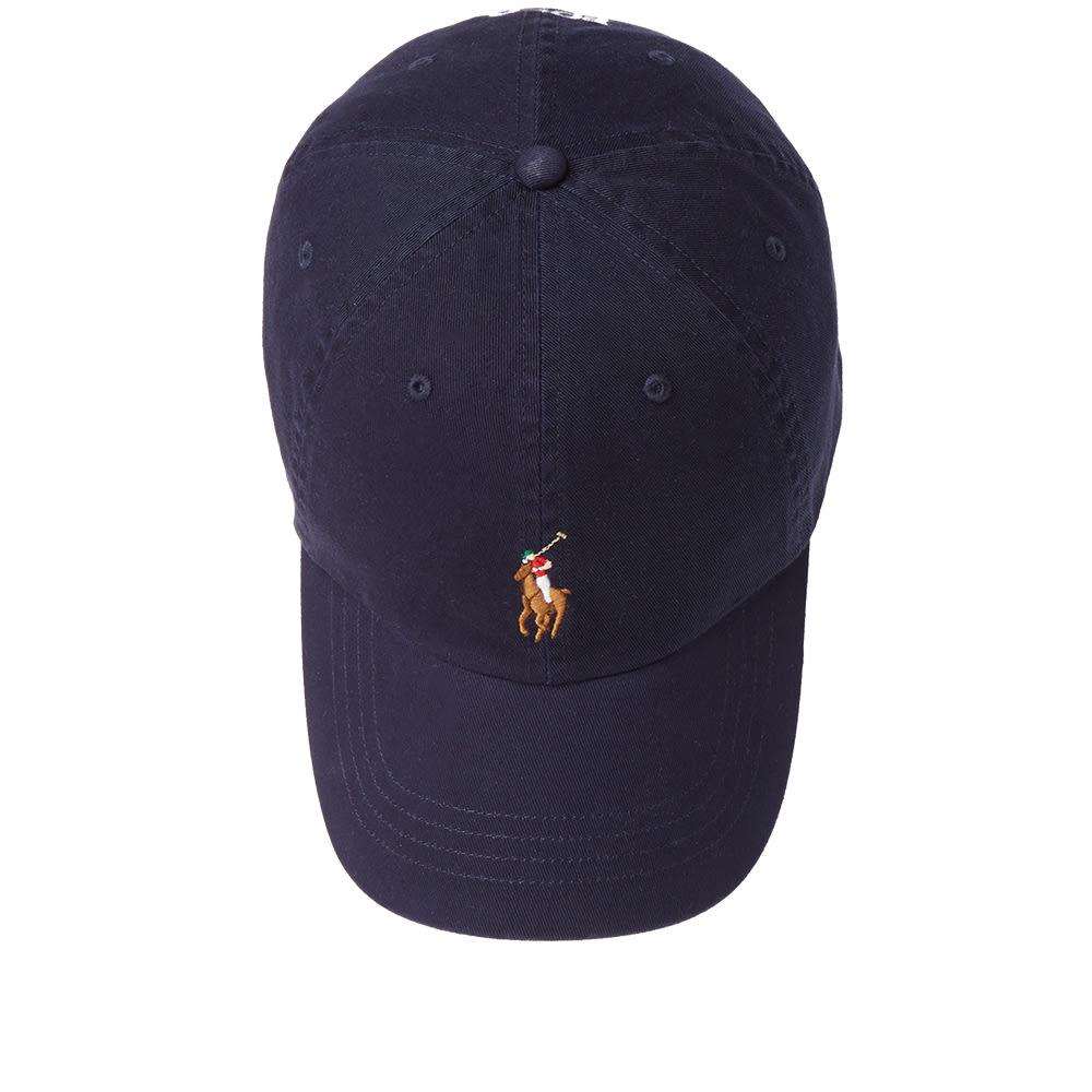 polo ralph lauren classic baseball cap relay blue multi. Black Bedroom Furniture Sets. Home Design Ideas