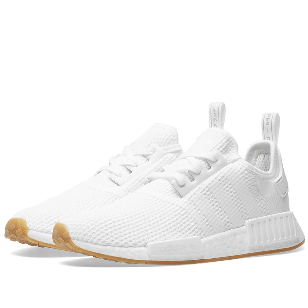 873c7d6e9 Adidas NMD R1 White   Gum