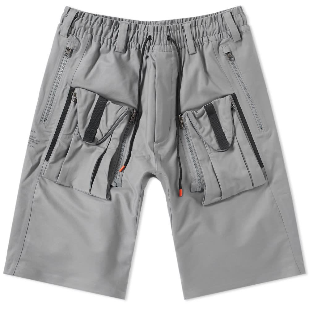 buy online 47a62 6ca87 NikeLab ACG Deploy Cargo Short Cool Grey   END.