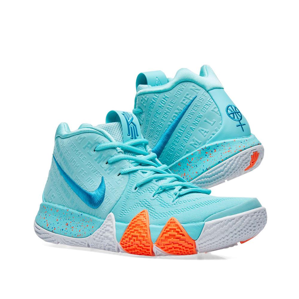 1dfc104e2bd9 Nike Kyrie 4 Light Aqua   Neo Turqoise