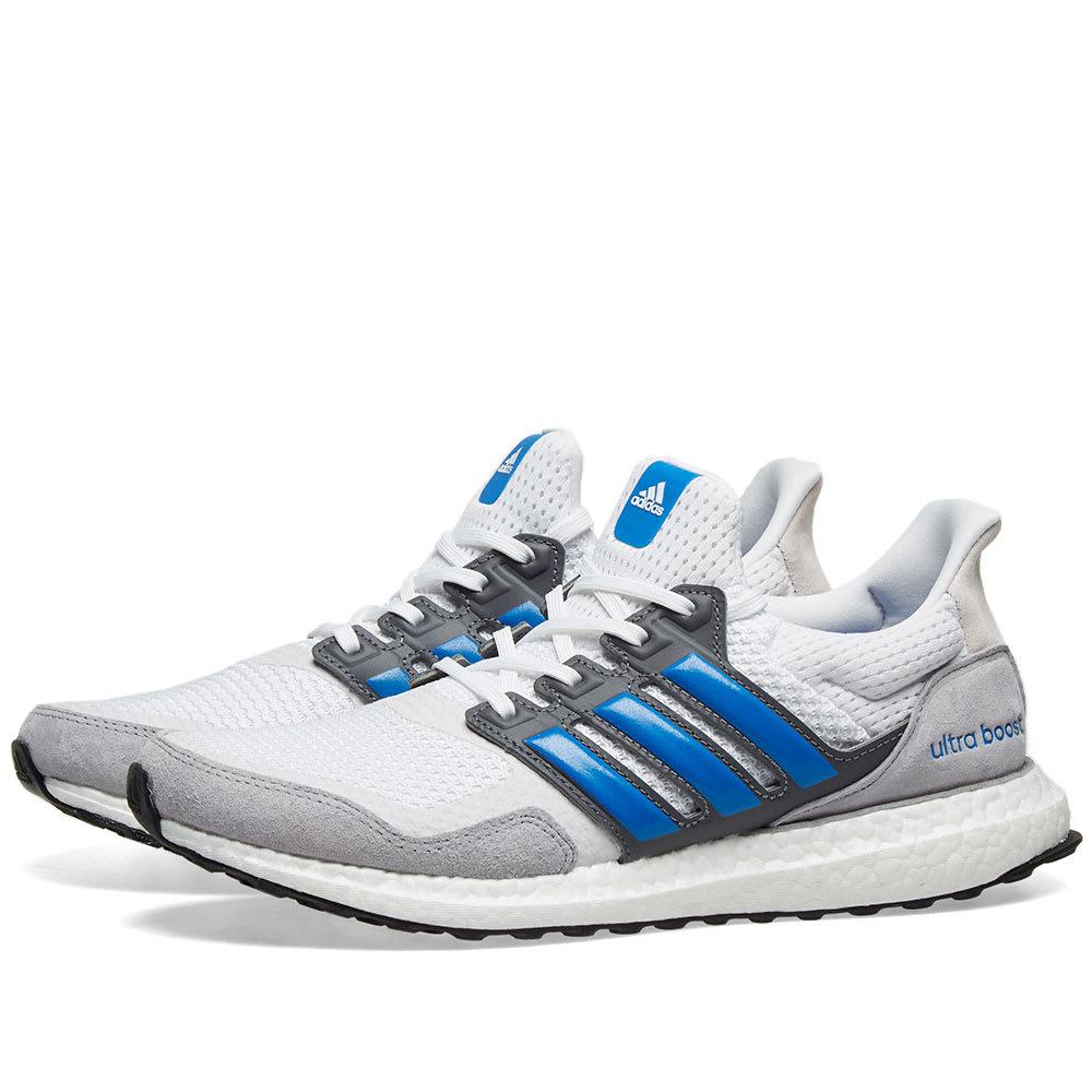 Adidas Ultra Boost S\u0026L White, True Blue