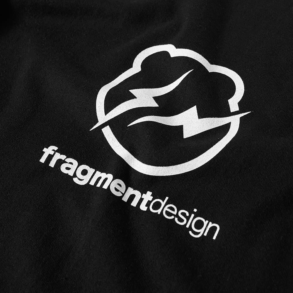 Medicom x Fragment Design Men W Logo BE@RTEE black